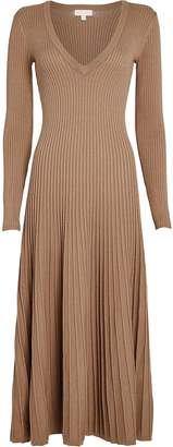 Ronny Kobo Cladevea Rib Knit Midi Dress