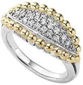 Lagos 'Caviar' Diamond Marquise Ring