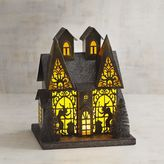 Pier 1 Imports LED Light-Up Witch's Haunted House