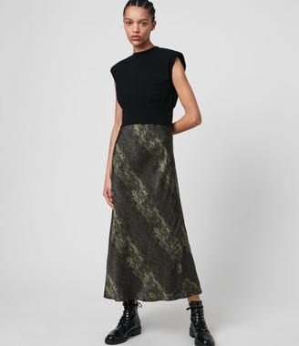 AllSaints Kayla Masala 2-in-1 Dress