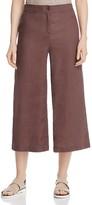 Eileen Fisher Organic Linen Wide Leg Crop Pants