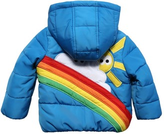 Stella McCartney Kids Hooded Nylon Puffer Jacket