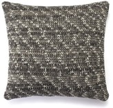 Nassau Street Knitted 100% Cotton Throw Pillow Gracie Oaks Color: Gray