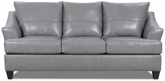 United Furniture Industries 2063-03 Soft Touch Sofa, Silver