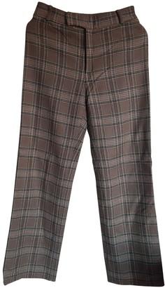 Max Mara Weekend Camel Wool Trousers