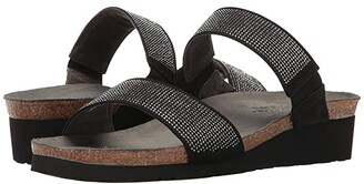 Naot Footwear Bianca (Beige/Silver Rivets/Mirror Leather) Women's Sandals