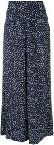 P.A.R.O.S.H. dots print skirt - women - Silk - L