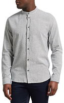 Samsoe & Samsoe Liam Ex Stripe Shirt, Dark Sapphire/white