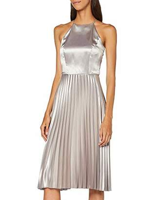 Dorothy Perkins Women's L:SLV Hltr Midi DRSS Party Dress,(Size:)