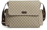 Gucci Infant Diaper Messenger Bag - Beige