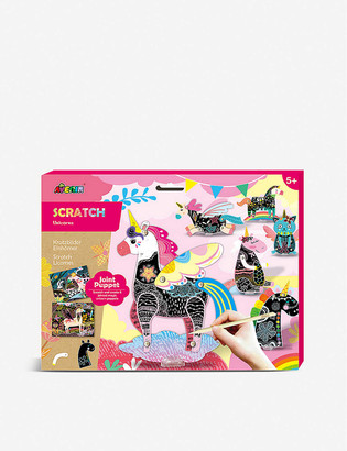 Avenir Scratch Joint Puppet Unicorns activity pack