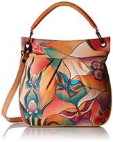 Anuschka Handpainted Leather Large Convertible Tote