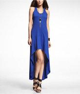 Hi-Lo Hem Knit Maxi Dress