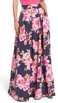 Eliza J Women's Jacquard Ball Skirt