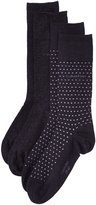 Calvin Klein 2-Pack Dots Flat-Knit Men's Socks