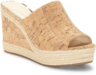 Jessica Simpson Monrah Wedge Slide Sandal