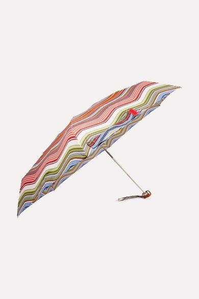 Missoni - Aggie Striped Shell Umbrella - Red