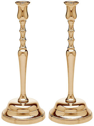 One Kings Lane Set of 2 Vista Candleholders - Gold