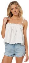 Rusty New Women's Heartbreaker Cami Cotton Linen White
