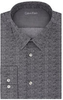 Calvin Klein Slim Fit Chevron Dress Shirt