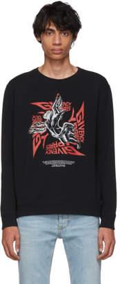 Givenchy Black Mad Trip Tour Sweatshirt