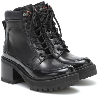 See by Chloe Mallory leather boots