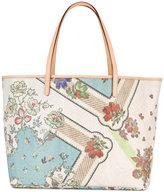 Etro floral print tote - women - Cotton/Polyester/PVC - One Size