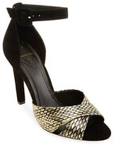 Brian Atwood Tied Contrast Pumps