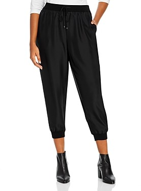 Eileen Fisher, Plus Size Size Silk Ankle Pants