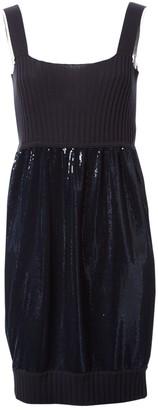 Fendi Navy Cotton Dresses