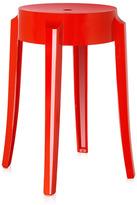 Kartell Charles Ghost Stool 45cm Red