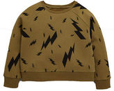 Very Thunderbolt Sweat Top in Khaki Size 15-16 Years