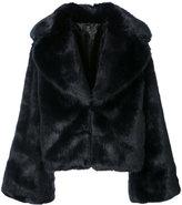 Nili Lotan faux-fur fitted jacket