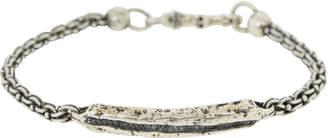 John Varvatos Black Diamond ID Bracelet