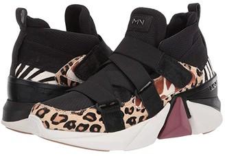 Mark Nason Diamond (Black/Cheetah) Women's Lace up casual Shoes