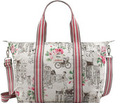 Cath Kidston Townhouse Dogs Foldaway Overnight Bag