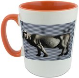 Fotomax Mug with A toy gray cow