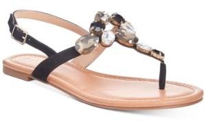 Thalia Sodi Jace Jewel Thong Flat Sandals, Created for Macy's Women's Shoes