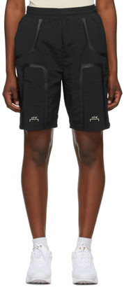 A-Cold-Wall* Black Welded Track Shorts