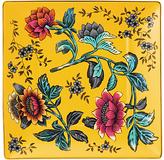 Wedgwood Wonderlust Tonquin Tea Tray, Yellow/Multi, 14.5cm