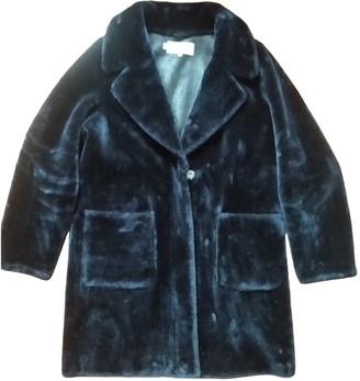 Hobbs Blue Faux fur Coat for Women