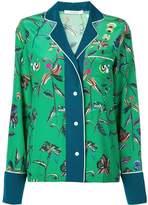 Derek Lam 10 Crosby botanical print pyjama shirt