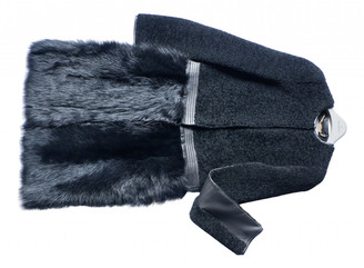 Mulberry Black Shearling Coats