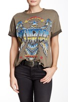 Affliction Liquid Metal Cropped Tee
