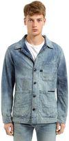 G Star Blake Cotton Denim Shirt Jacket