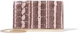Diane von Furstenberg Soirée Elaphe Shoulder Bag - Snake print