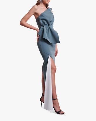Rachel Gilbert Carmine Gown