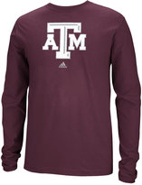 adidas Men's Texas A&M Aggies School Logo Long Sleeve T-Shirt