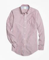 Brooks Brothers Non-Iron Regent Fit Stripe Sport Shirt