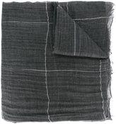 Brunello Cucinelli checked scarf